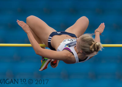 Lynda Chamberlin on High Jump