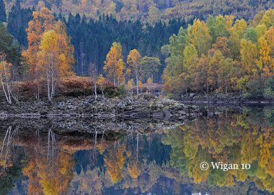 Autumn on Loch Garry