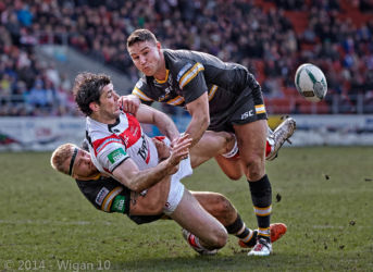 Trio in a Tackle by Austin Thomas