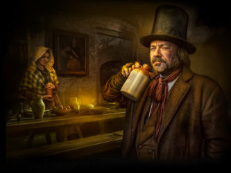 Gin Drinkers by Phil Barber