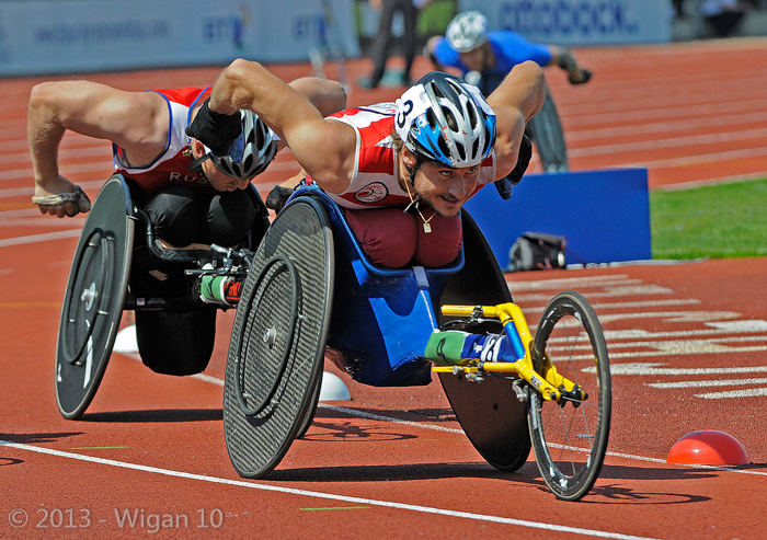 Wheelchair Racers